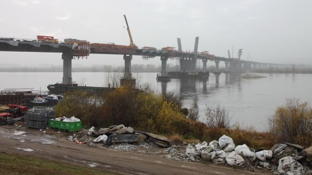 Całkowita długość trasy, wraz estakadą i mostem, wyniesie ok. 11,9 km