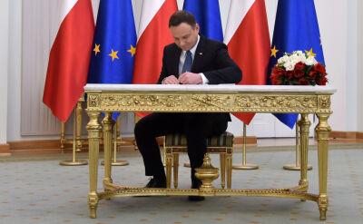 Mucha: prezydent złożył podpis pod nowelizacją ustroju sądów