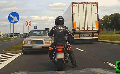 W Gorzowie Wielkopolskim kierowca jechał pod prąd