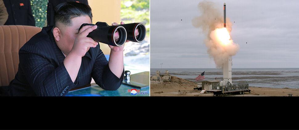 """Reżim Kima boi się """"nowej zimnej wojny""""  po amerykańskim teście rakiety"""