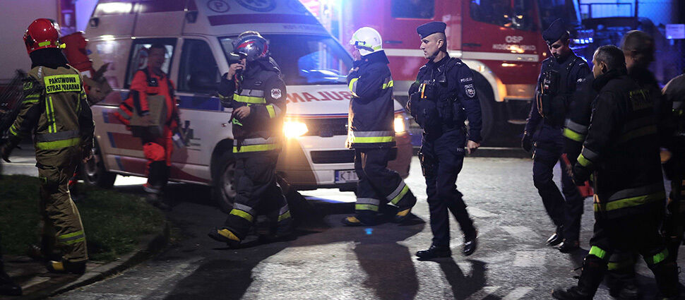 Czterech zabitych, ponad stu poszkodowanych od piorunów i podczas panicznej ucieczki