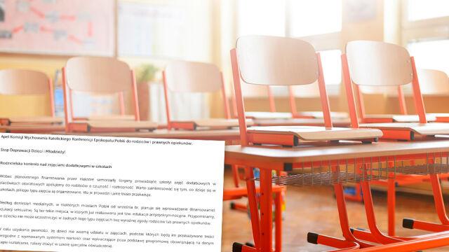 Episkopat apeluje do rodziców w sprawie edukacji seksualnej w szkołach