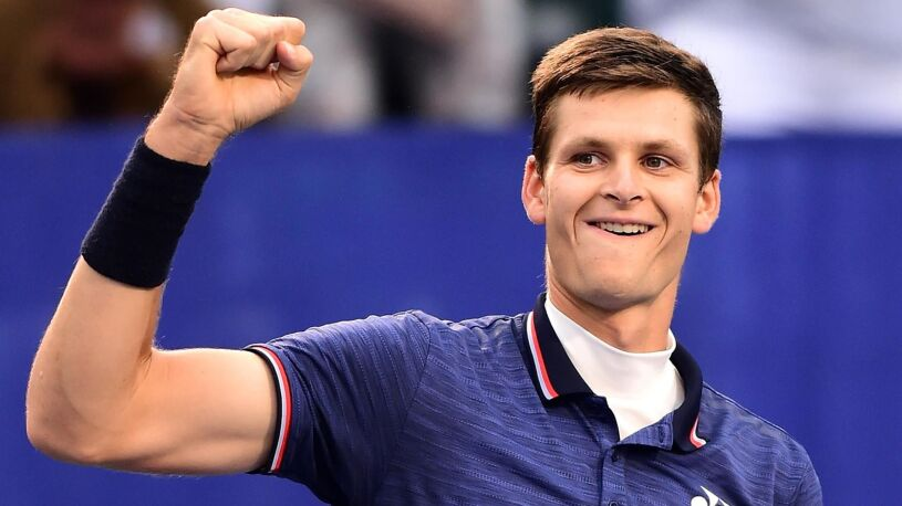 Ćwierćfinalista US Open na rozkładzie Hurkacza