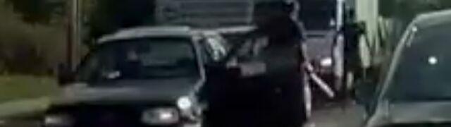 Areszt dla agresywnego kierowcy