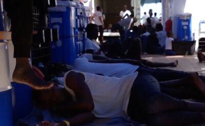 Statek hiszpańskiego organizacji pozarządowej uzyskał zgodę na przyjęcie w Lapedusie