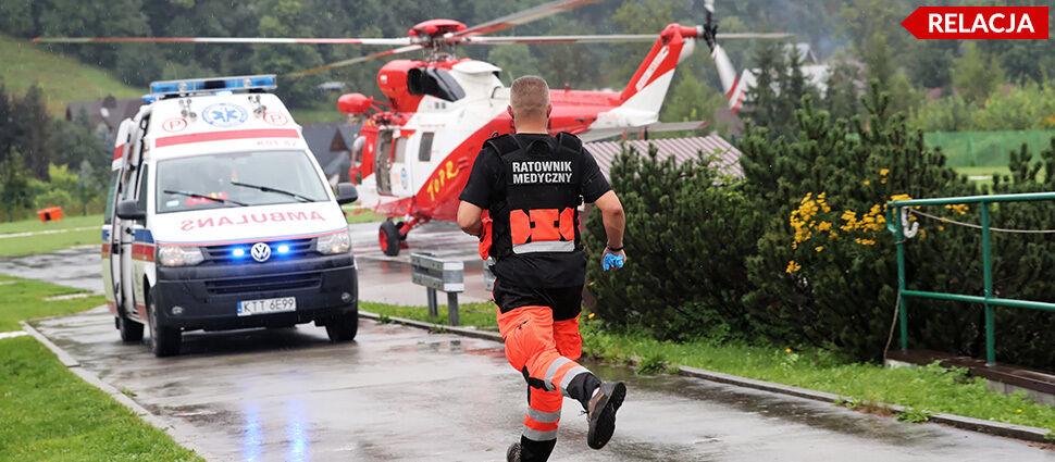 Turyści rażeni piorunem. 4 zabitych,  89 poszkodowanych w szpitalu w Zakopanem