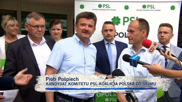 Paweł Kukiz z ludowcami