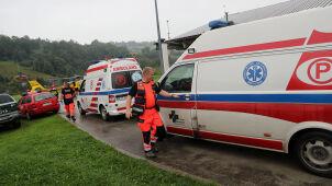 29 poszkodowanych po burzy w Tatrach wciąż w szpitalach