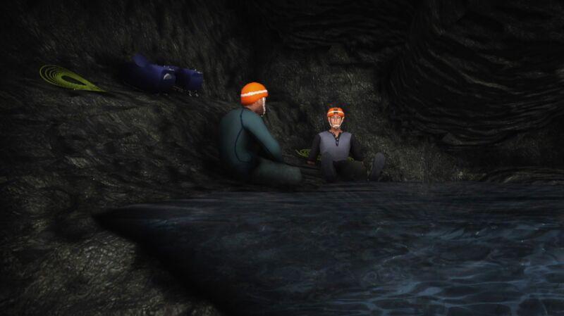 Ratownicy próbują dostać się do uwięzionych grotołazów
