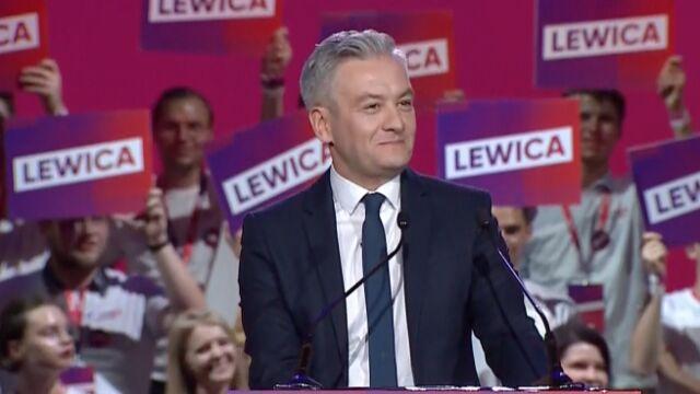 """Konwencja lewicy przerwana przez alarm. """"Nic nas nie zatrzyma"""""""