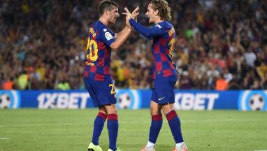 Zabójcze dziesięć minut Barcelony. Griezmann zastąpił Messiego i Suareza