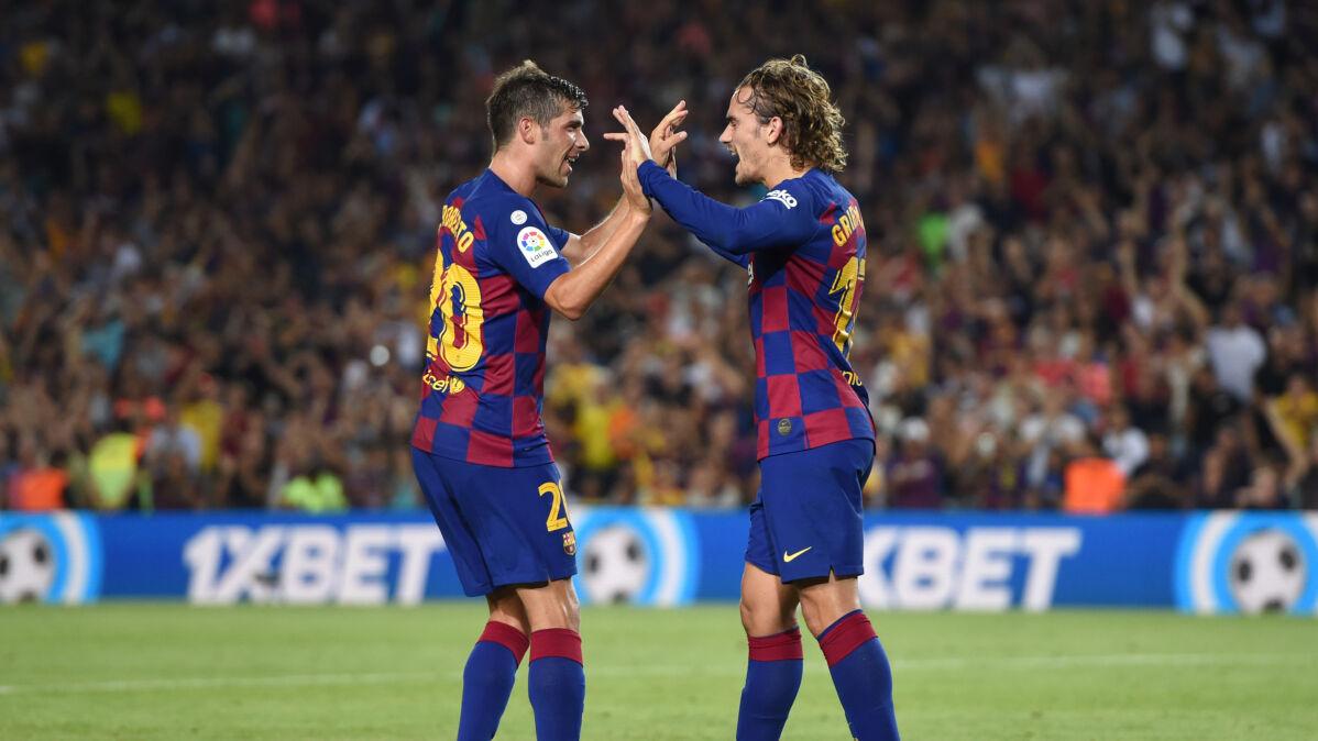 Zabójcze dziesięć minut Dumy Katalonii. Griezmann zastąpił Messiego i Suareza