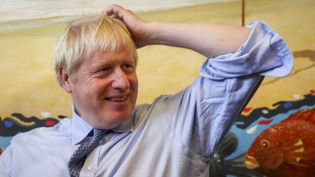 Johnson pisze do Tuska w sprawie granicy Wielkiej Brytanii i Irlandii