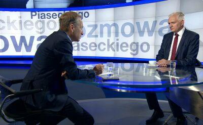 Gowin: Nie należy ferować wyroków. Niech wiceminister Piebiak odniesie się do sprawy
