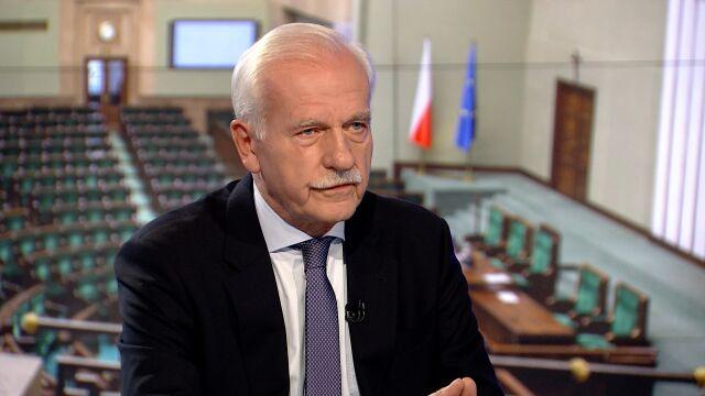 """Gościem """"Faktów po Faktach"""" był Andrzej Olechowski"""