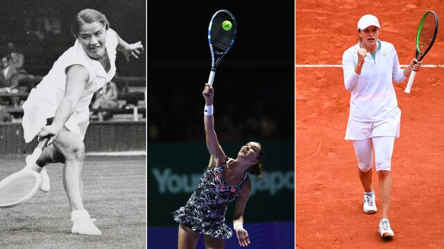 Znalazła się na tenisowym szczycie. Jako trzecia Polka w historii