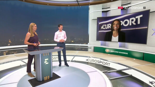 Eurosport Cube. Analiza po meczu Świątek - Trevisan w ćwierćfinale Roland Garros