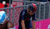 Contador o upadku Thomasa na 3. etapie Giro d'Italia