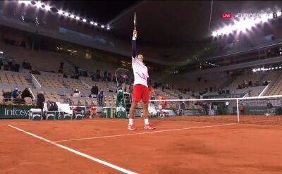 Djoković awansował do półfinału Roland Garros