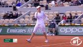 Najlepsze zagrania w rywalizacji singlistek w Roland Garros 2020