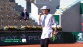 Skrót meczu Świątek/Melichar - Muhammad/Pegula w ćwierćfinale gry podwójnej kobiet w Roland Garros