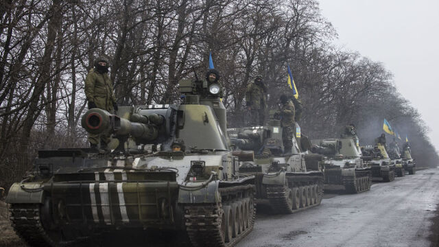 Ponad 2,5 tys. ukraińskich żołnierzy zginęło w walkach w Donbasie