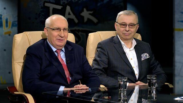Cezary Mech i Andrzej Sadowski w Tak Jest