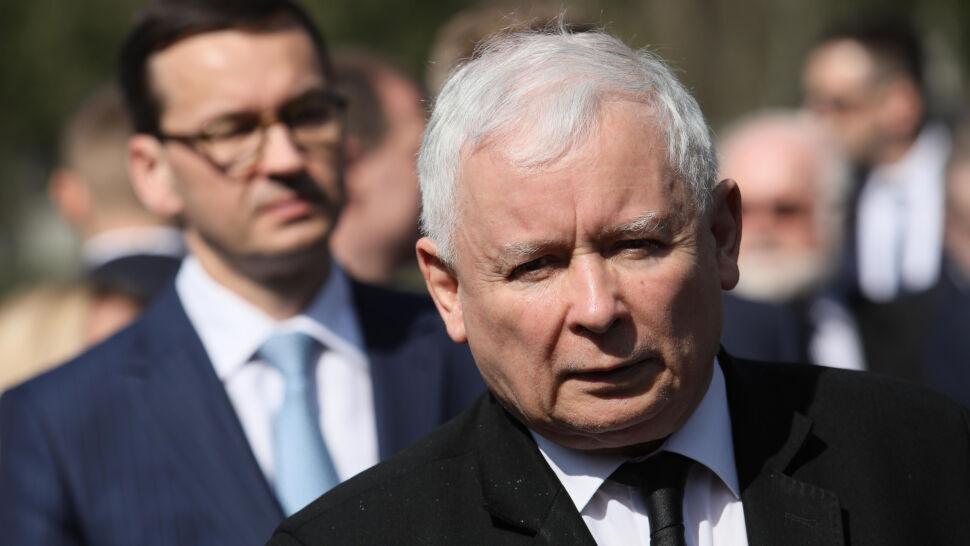 """""""Akt najwyższej czołobitności wobec Kaczyńskiego"""". Politycy komentują słowa premiera"""