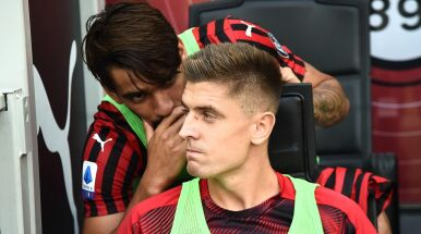 Piątek na ławce, trener Milanu tłumaczy.