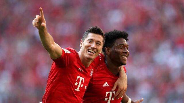 Wysokie zwycięstwo Bayernu. Szósty gol Lewandowskiego