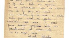List Leokadii Zdunek do Stefana Hoppela