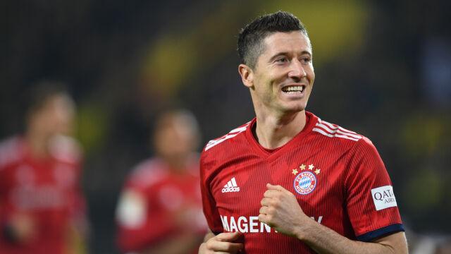 Kolejne wyróżnienie. Lewandowski najlepszym piłkarzem sierpnia w Bundeslidze