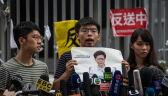 W Hongkongu wpływowi działacze zatrzymani przez policję za protesty