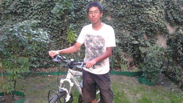 Pół świata przejechał na rowerze, przystanek zrobił w Poznaniu