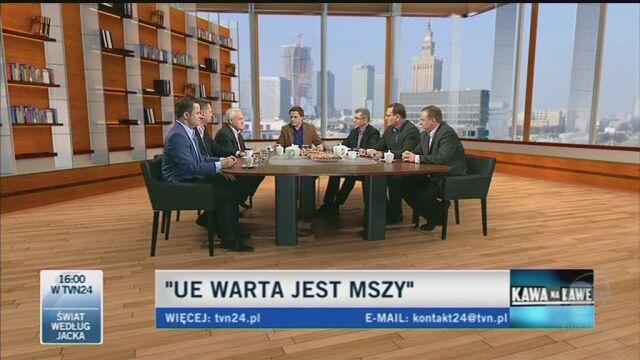 Politycy rozmawiali o finansach Kościoła i propozycji rządu (TVN24)