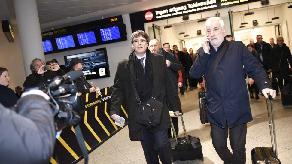 Puigdemont przyjechał do Danii. Hiszpania próbuje go zatrzymać