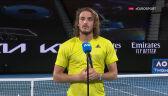 Tsitsipas po awansie do półfinału Australian Open