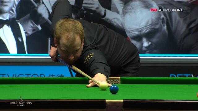Brown na prowadzeniu po pierwszej sesji finału Welsh Open