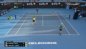 Świątek i Kubot przegrali 1. seta w 2. rundzie gry mieszanej w Australian Open