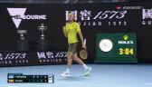 Tsitsipas przełamał Nadala w 4. secie ćwierćfinału Australian Open