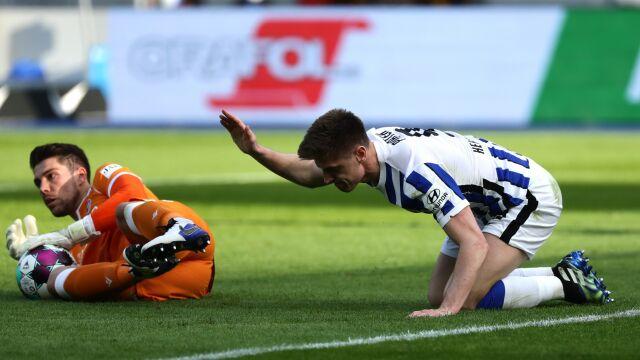Piątek bez gola, Hertha bez zwycięstwa. Walka o utrzymanie toczy się na całego