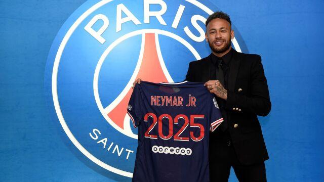 Koniec spekulacji. Neymar przedłużył umowę z PSG