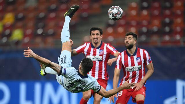 Genialny Giroud pogrążył Atletico. Chelsea bliżej ćwierćfinału Ligi Mistrzów