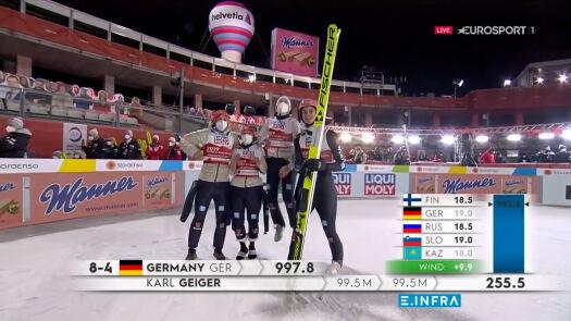 Niemcy mistrzami świata w konkursie drużyn mieszanych