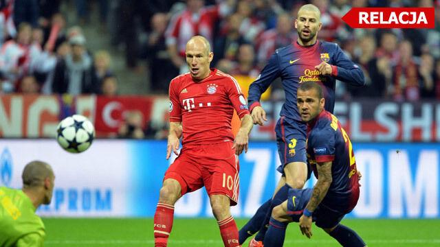 Barcelona na deskach.  Bayern czuje się finalistą