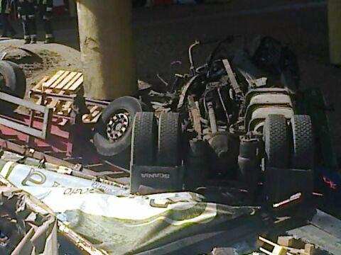 Według wstępnych ustaleń, w ciężarówce nie działały hamulce