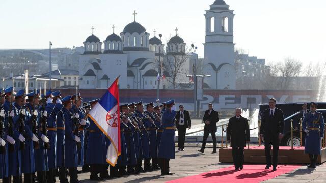 Gorące powitanie Putina, które