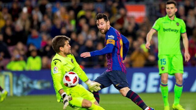 Wrócił Messi i załatwił sprawę. Barcelona i tak może nie zagrać w ćwierćfinale