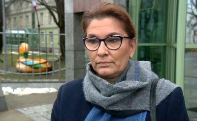 Beata Mazurek: jesteśmy wstrząśnięci tym, co się stało