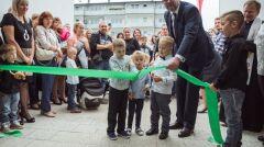 Paweł Adamowicz podczas uroczystego otwarcia przedszkola nr 83 w Gdańsku